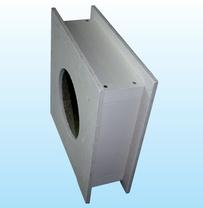 Brandschutzelement für Wanddurchführungen Wanddicke 400-485 mm