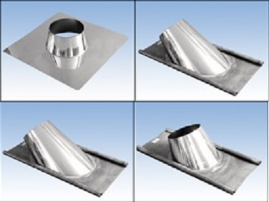 Dachdurchführung mit Regenkragen   verschiedene Ausführungen